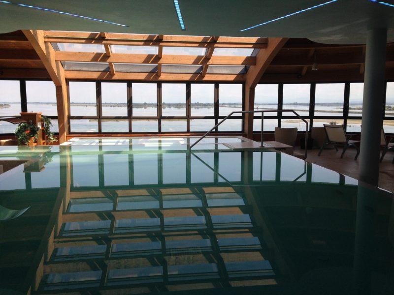 Wellnessbereich im Laguna Palace in Grado